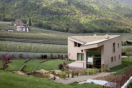 Villa Terzer, Eppan; Wettbewerbssieger MODUS architects, Foto: Alessandra Chemollo