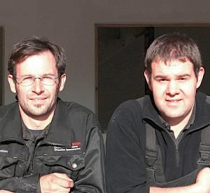 Christian Resch und Hannes Huber