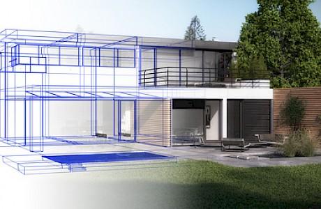 Sich ein Haus bauen