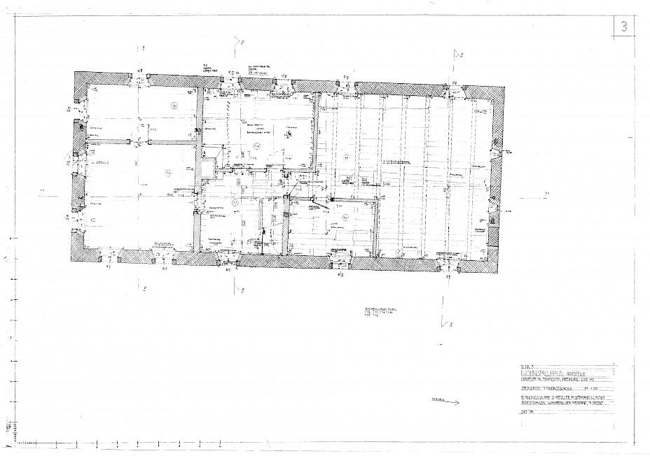 Grundriss EG Bauaufnahme Wohnhaus